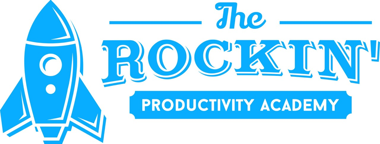 The Rockin' Productivity Academy Banner
